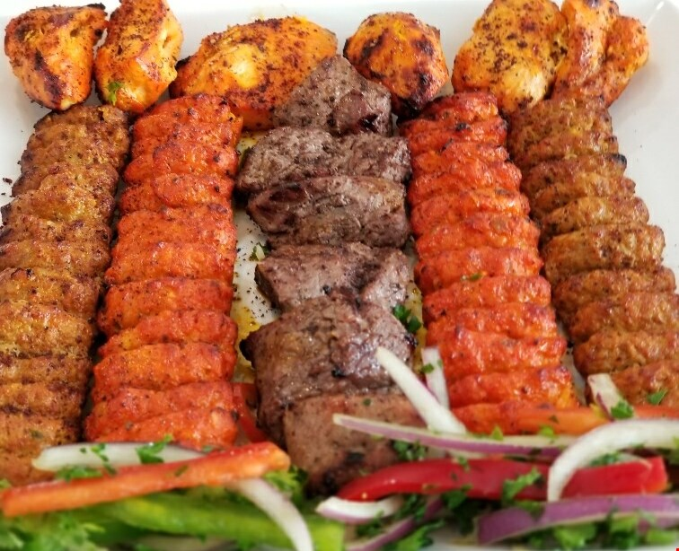 Product image for Ashburn Kabob FREE appetizer with family platter purchase of $50 or more.