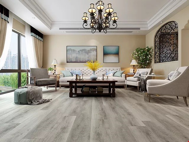 Product image for Specialist N Flooring $3.99 / sq. ft. plus tax 100% waterproof flooring installed.