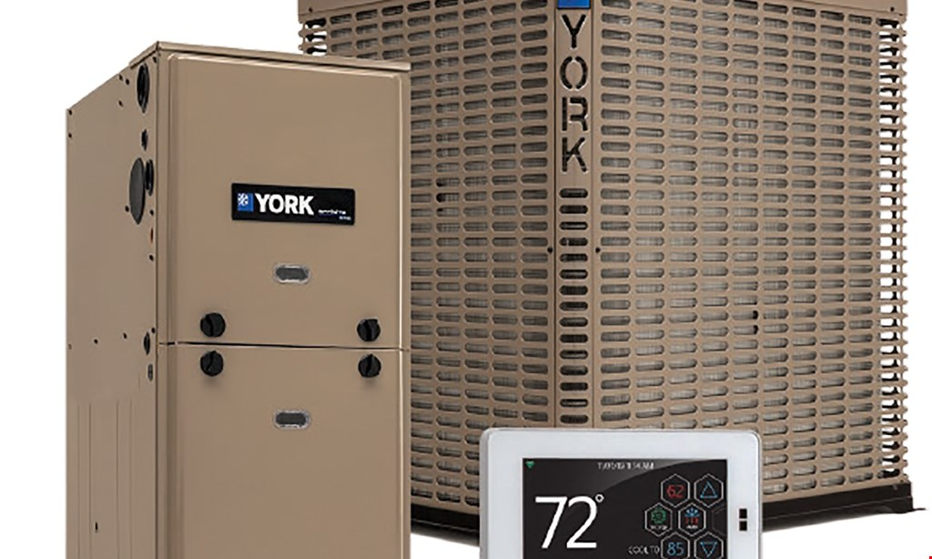 Product image for George H. Burns Inc Heating & Air 10 year 'worry-free' guarantee on a new heating or cooling system.