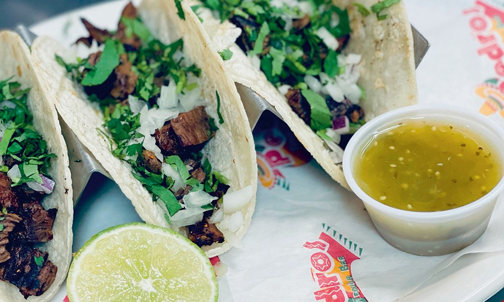 Product image for Pedro's Tacos & Tequila Bar $4 Off with purchase of 2 dinner entrees & 2 drinks.