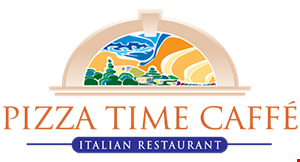 PIZZA TIME CAFFE logo