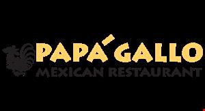 PAPA GALLO MEXICAN RESTAURANT logo