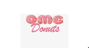 Product image for OMG Donuts 50% OFF lunch sandwich buy 1 lunch sandwich, get 2nd lunch sandwich 50% off.