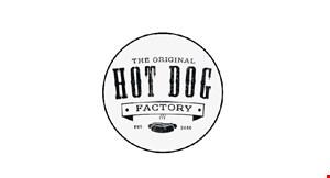 The Original Hotdog Factory logo