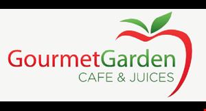 Gourmet Garden Cafe & Juices logo