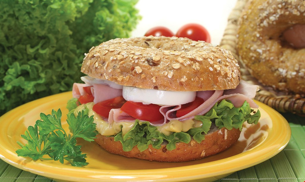 Product image for Two Brothers NY Bagels Coconut Creek 20% OFF catering order of $100 or more.