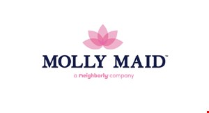 Product image for Molly Maids $75. $25 off initial, 1st & 4th clean.