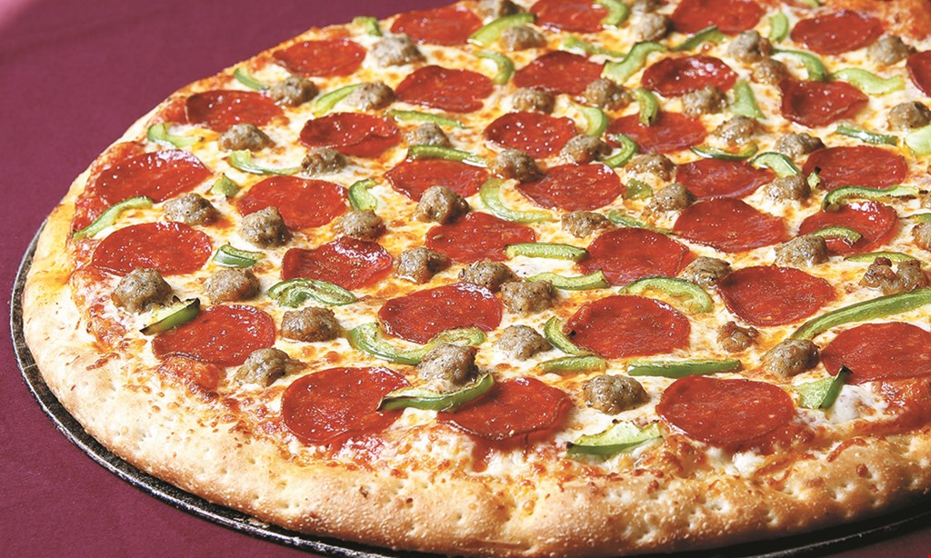 Product image for La Cucina Italiano Halal $26.99 2 XL 2-topping pizzas.