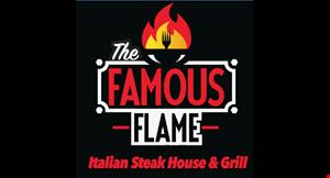The Famous Flame Steakhouse & Italian Restaurant logo