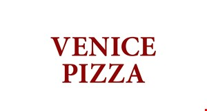Product image for Venice Pizza $2 off any purchase