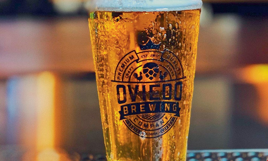 Product image for Oviedo Brewing Company $5 OFF any purchase of $25 or more.