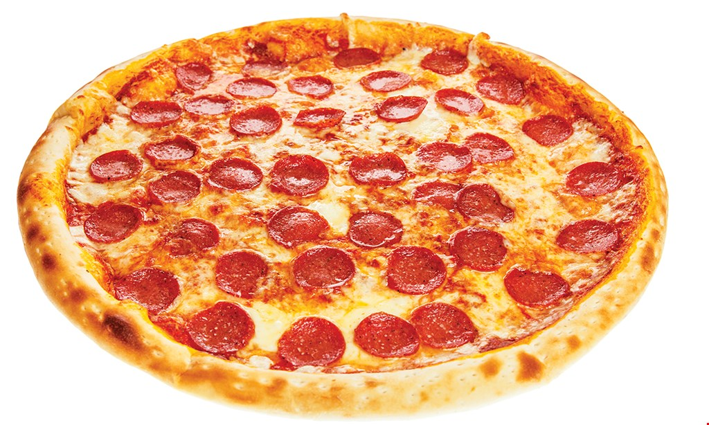 Product image for Geno's Pizza 1/2 OFF Any Style PizzaWhen you buy any style pizza. Toppings extra. $38 2 cheese pizzas, 10 chicken wings & one 2-liter soda. $5 OFF Any Orderof $25 or more. .