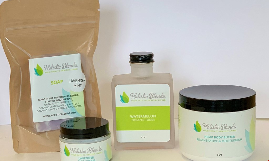Product image for Holistic Blends, Inc. $5 OFF any purchase of $25 or more.
