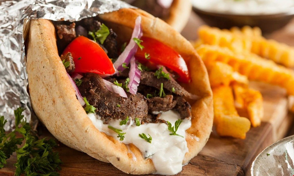 Product image for Gyro City Grill 10% OFF any catering of $100 or more.