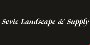 Product image for Sevic Landscape & Supply $2 off retail price of a yard of gravel or mulch.