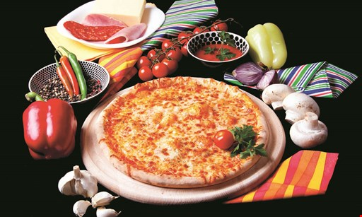 Product image for Davinci's Pizza $29.99 2 large cheese pizzas, 10 wings & 2 liter of soda.