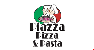 Product image for PIAZZA PIZZA & PASTA Free any pasta with any order of $35 or more.