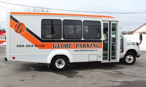 Product image for Globe Airport Parking $5.95 per day, Tax Included • Valet Parking.
