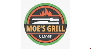 Product image for Moe's Grill & More $10 OFF Total order of $60 or more.
