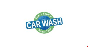 Product image for Tom's Family Car Wash $ 1 5 off Full Synthetic Oil Change.