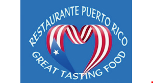 Product image for Restaurante Puerto Rico $5 OFF any purchase of $25 or more or $10 OFF any purchase of $50 or more.