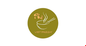 Product image for Pho Vietfresh $5 OFF any purchase of $30 or more.