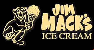 Jim Mack's Ice Cream logo