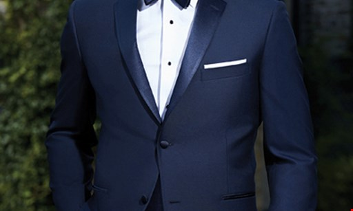Product image for Chadmoore Formal Wear $45 Off any prom tuxedo rental
