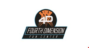 Product image for Fourth Dimension Fun Center 50% off 1 game of laser tag
