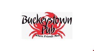 Product image for Buckeystown Pub 10% off your check excludes alcohol.