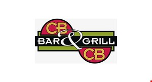 Product image for CBCB Bar & Grill Cold Beer And Cheeseburgers 15% OFF any check of $20 or more. Dine in only.