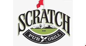 Product image for Scratch Pub & Grill $5 OFF any purchase of $25 or more.