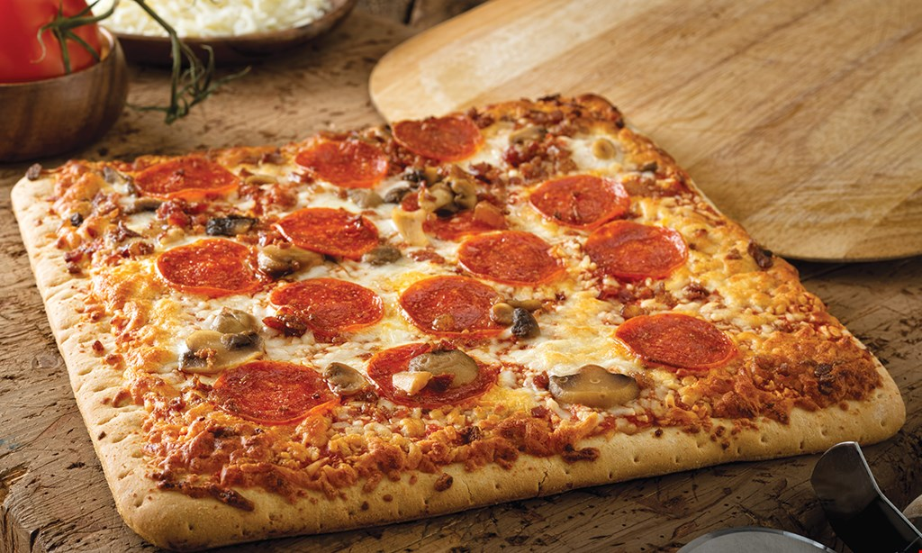 Product image for Piara Pizza $14.99 plus tax LARGE BBQ CHICKEN. Includes: Chicken, BBQ Sauce Red Onion, Cheese.