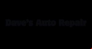 Dave's Auto Repair logo