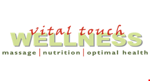 Vital Touch Wellness logo