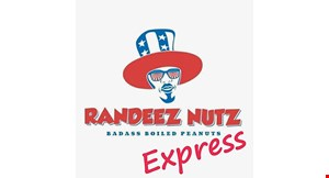 Product image for Randeez Nutz Express $2 Off any purchase of $15 or more.