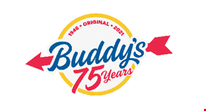 Product image for Buddy's Restaurant & Pizzeria 20% OFF Any purchase of $30 or more when you dine-in.