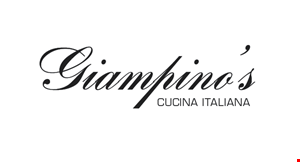 Product image for Giampino's Cucina Italian $10 OFF check of $60 or more