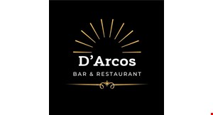 Product image for D'Arcos Restaurant $5 OFF any purchase of $25 or more.