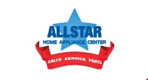 Product image for All Star Home Appliance Center $20 Off in-home service call. Reg. $79.
