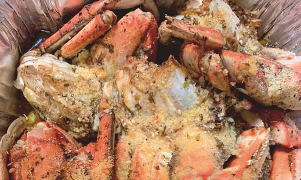 Product image for Seafood 2 Geaux FREE 1 pound of boiled shrimp when you buy 4 pounds of boiled shrimp.