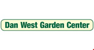 Product image for Dan West Garden Center $10 off Any Purchase