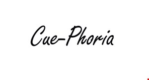 Product image for Cue-Phoria $10 For $20 Toward Pool Play & Beverages