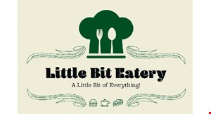 Product image for Little Bit Eatery 15% off any order