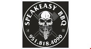 Product image for Speakeasy BBQ $10 OFF any purchase of $50 or more.