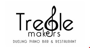 Product image for Treble Makers Dueling Piano Bar $2 off Hand-held Sandwiches.