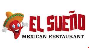 Product image for El Sueno Mexican Restaurant $5 OFF any purchase of $25 or more.