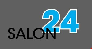 Product image for Salon 24 $10 OFF any color or perm.
