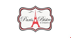 Product image for Paris Bistro $5 OFF any purchase of $25 or more DINE IN ONLY.