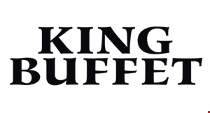 Product image for King Buffet $1 OFF entire check. Dine in. Take-out.